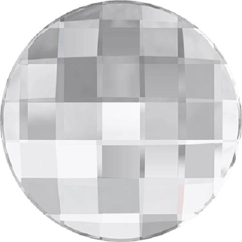Swarovski Crystal 2035 Chessboard Circle Flatback -14mm