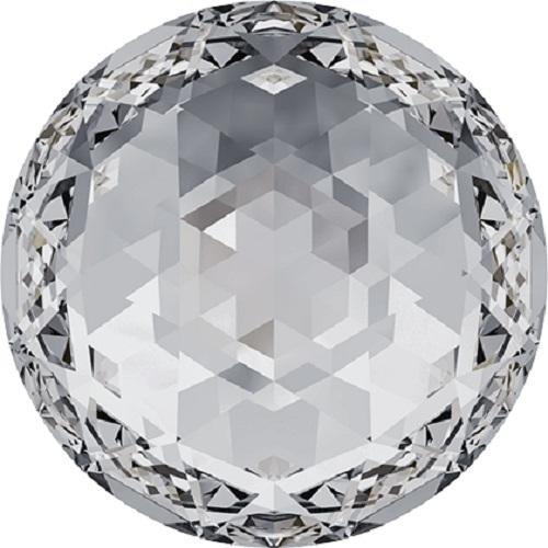 Swarovski Crystal 2072 Rose Cut  Flatback No Hotfix -10mm