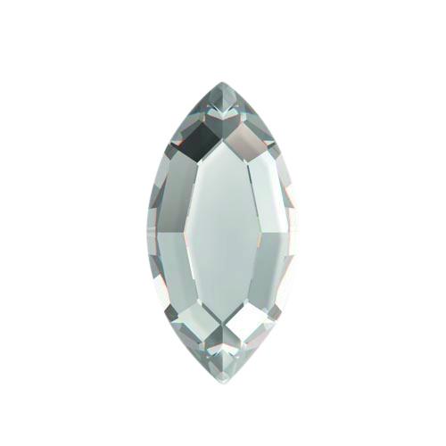Swarovski Crystal Flat Back No Hotfix  2200- Navette - 8x 4mm