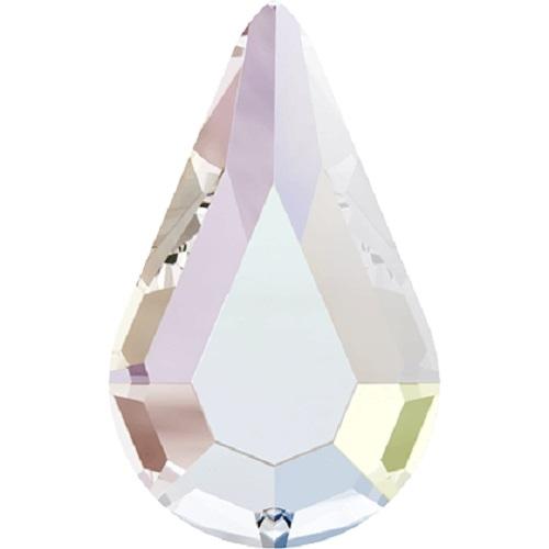 Swarovski Crystal 2300 Drop Flat Back No Hotfix -10.0 X 6 mm