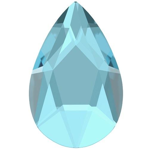 Swarovski Crystal 2303 Pear Flat Back No Hot Fix - 14.0 x 9.0 mm