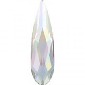 Swarovski Crystal Flatback Raindrop 2304- 6 x 1.7 mm