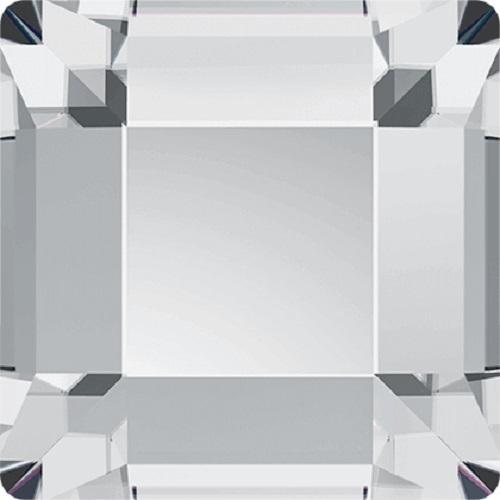 Swarovski Crystal Flatback Square 2400  No Hotfix 4.0 mm