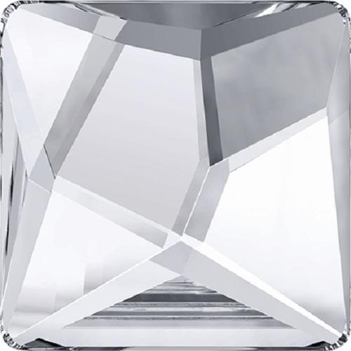 Swarovski Crystal 2420 Asymmetric Square Flat Back No Hot Fix - 25mm