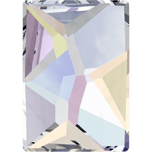 Swarovski Crystal 2520 Cosmic Flat Back No Hot Fix - 14 x 10 mm