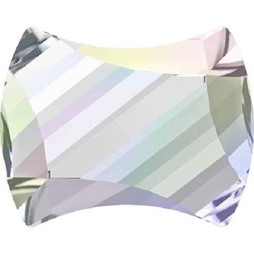 Swarovski Crystal 2540 Curvy Flat Back No Hot fix -7.0 x 5.5mm