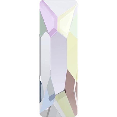 Swarovski Crystal 2555 Cosmic Baguette Flat Back No Hot Fix - 8.0 x2.6mm