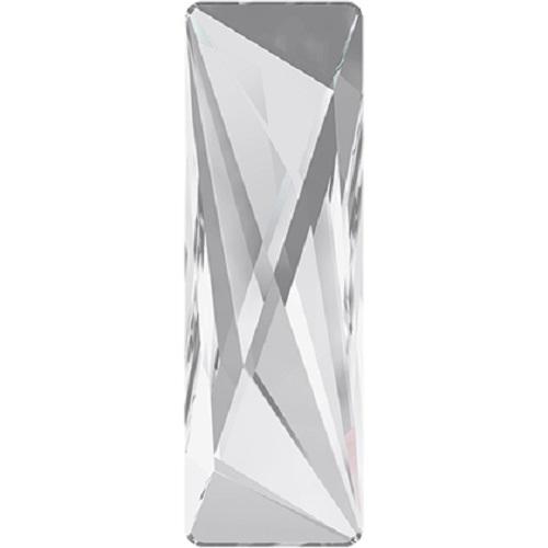 Swarovski Crystal 2570 Vigour Rectangle Flat Back No Hot Fix -50 x 16mm