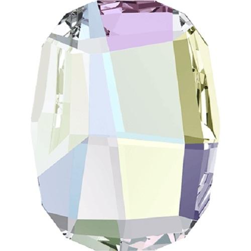 Swarovski Crystal 2585 Graphic Flat Back No Hot Fix - 10 mm