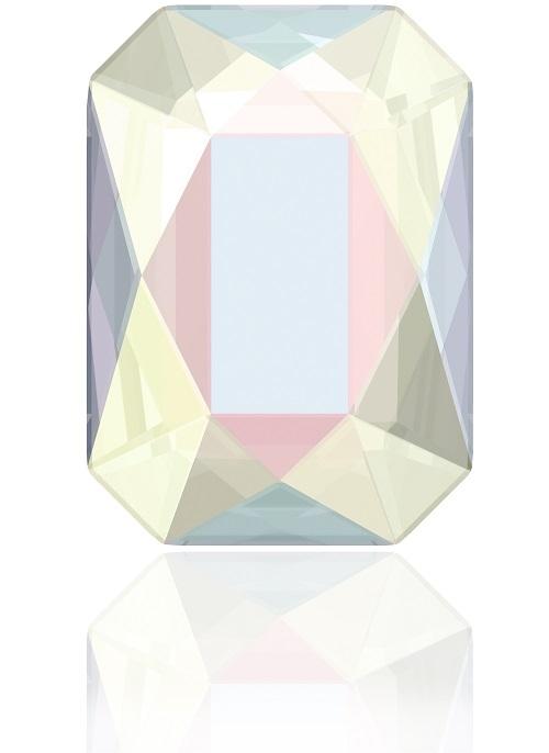 Swarovski Crystal 2602 Emerald Cut Flat Back No Hot Fix -8.0 x 5.5 mm