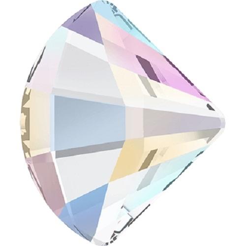 Swarovski Crystal 2714 Fan Flat Back No Hot Fix - 10 mm