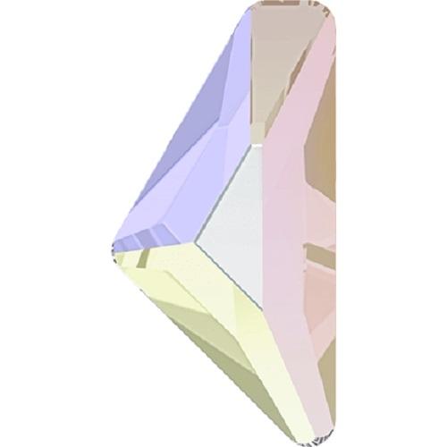 Swarovski Crystal 2738 Triangle Alpha Flat Back No Hot Fix -10.0 x 5.0 mm