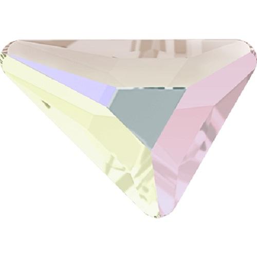 Swarovski Crystal 2739 Triangle Beta Flat Back No Hot Fix - 7.0 x 6.5 mm