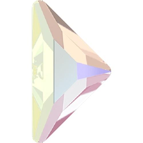 Swarovski Crystal 2740 Triangle Gamma Flat Back No Hot Fix - 10.0 x 10.0 mm