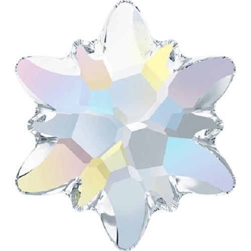 Swarovski Crystal 2753 Edelweiss Flat Back No Hot Fix - 10mm