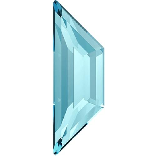 Swarovski Crystal Flatback Trapeze 2772 No Hotfix 12.9 x 4.2 mm