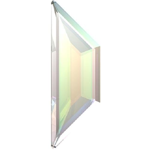 Swarovski Crystal Flatback Trapeze 2772 No Hotfix 8.6 x 2.8 mm