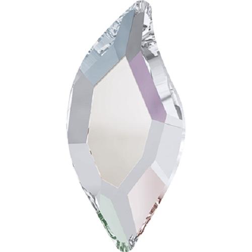 Swarovski Crystal 2797 Diamond Leaf Flat Back No Hot Fix - 8.0 x 4.0 mm