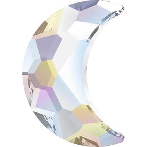 Swarovski Crystal 2813 Moon Flat Back No Hot Fix - 8.0 x 5.5 mm