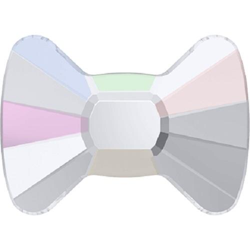Swarovski Crystal 2858 Bow Tie Flat Back No Hot Fix - 6 x 4.5 mm