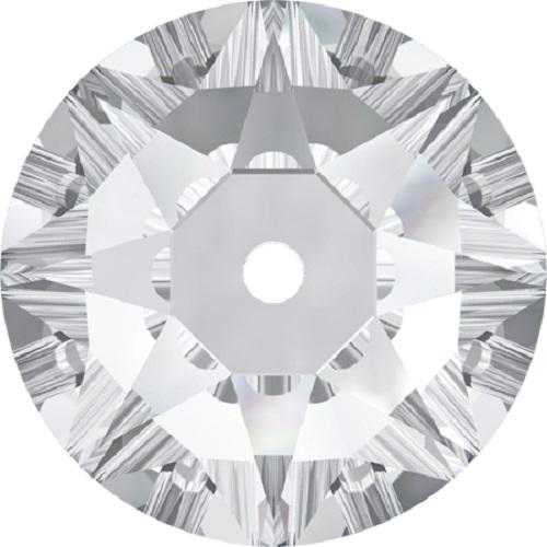Swarovski ® Crystal Sew On 3188 Lochrose Round- 8mm