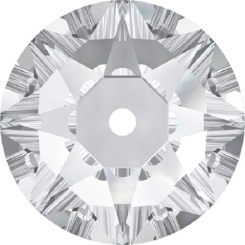 Swarovski ® Crystal Sew On 3188 Lochrose Round- 6mm