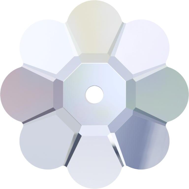 Swarovski Crystal 3700 Margarita Flower -6mm-Factory pack