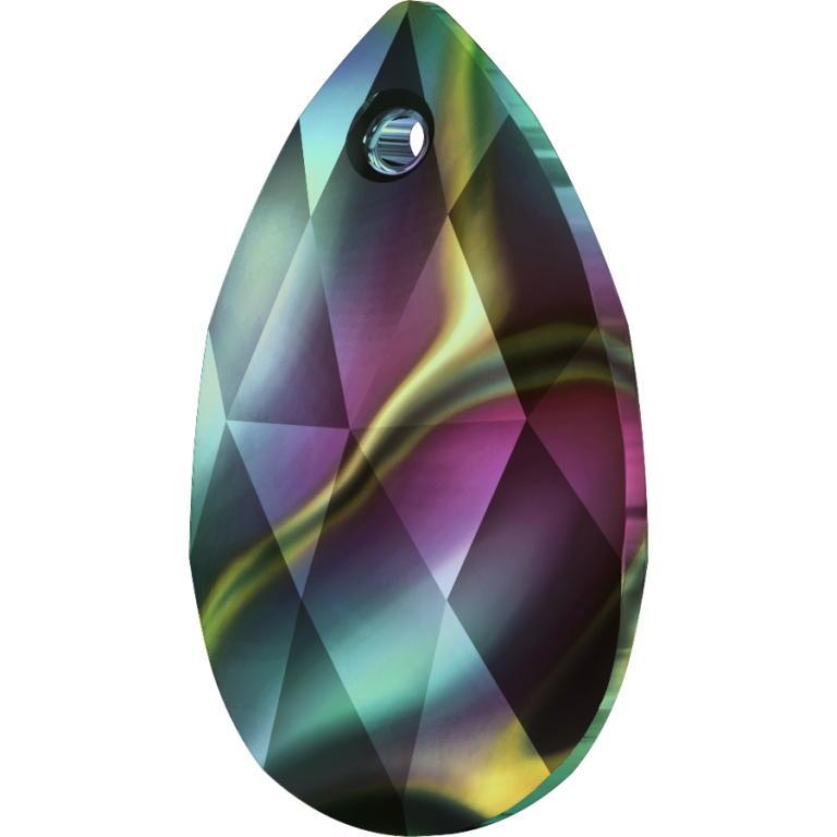 Swarovski Crystal Pear Pendant 6106-22mm