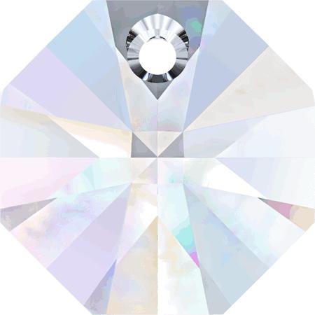 Swarovski Crystal Octagon(6401) Pendant-14mm