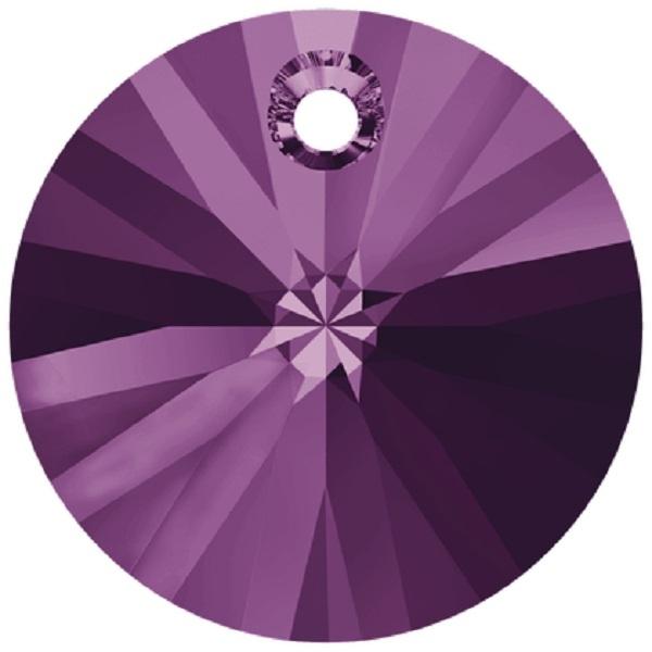 Swarovski Crystal Xillion Pendant 6428-12mm