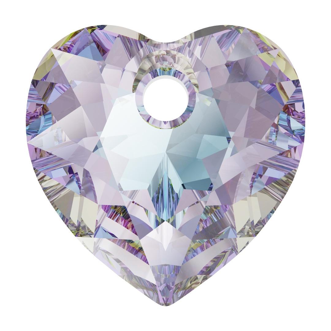 Swarovski Crystal 6432 Heart Cut Pendant - 8mm