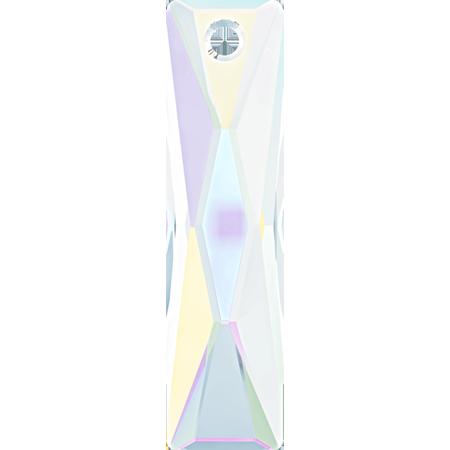 Swarovski ® Crystal 6465 Queen Baguette Pendant -38 x 10mm