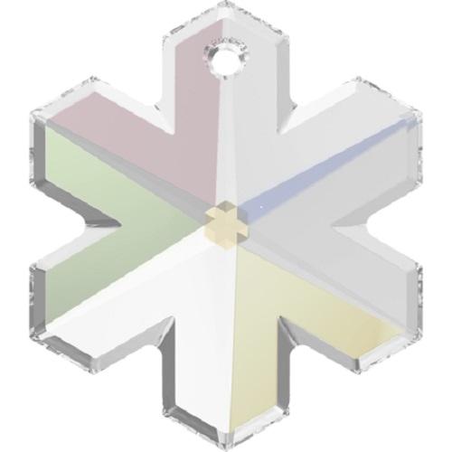 Swarovski ® Crystal 6704 Snowflake Pendant- 20mm