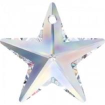 Swarovski Crystal 6714 Star Pendant -20mm-Factory Pack