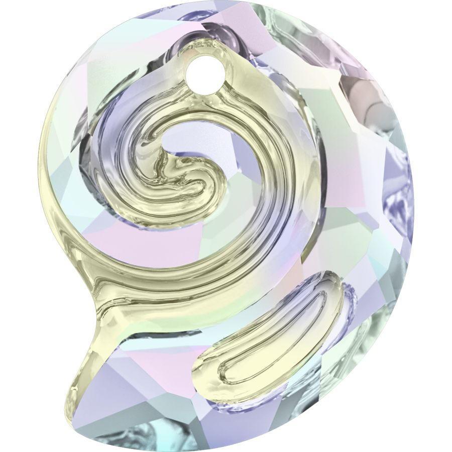 Swarovski Crystal Sea Snail Pendant 6731- 28 mm