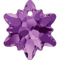Swarovski Crystal Pendants -6748-Edelweiss 14mm