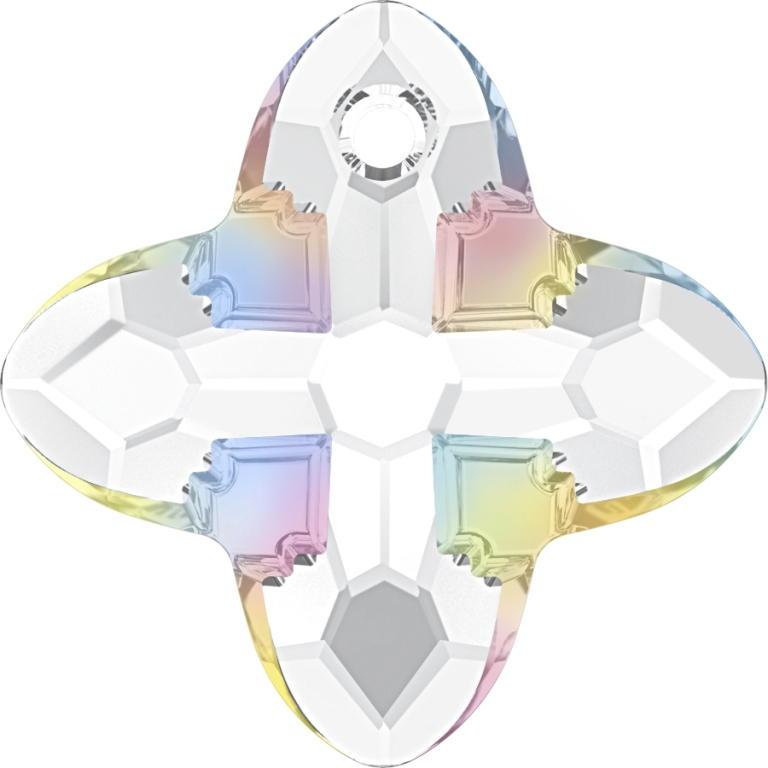 Swarovski Crystal Cross Tribe Pendant 6868-24mm
