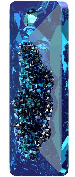 Swarovski ® Growing Crystal 6925 Rectangle Pendant 26mm