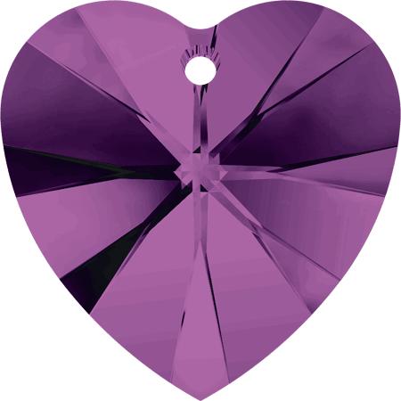 Swarovski Crystal Heart Pendant 6228-10mm