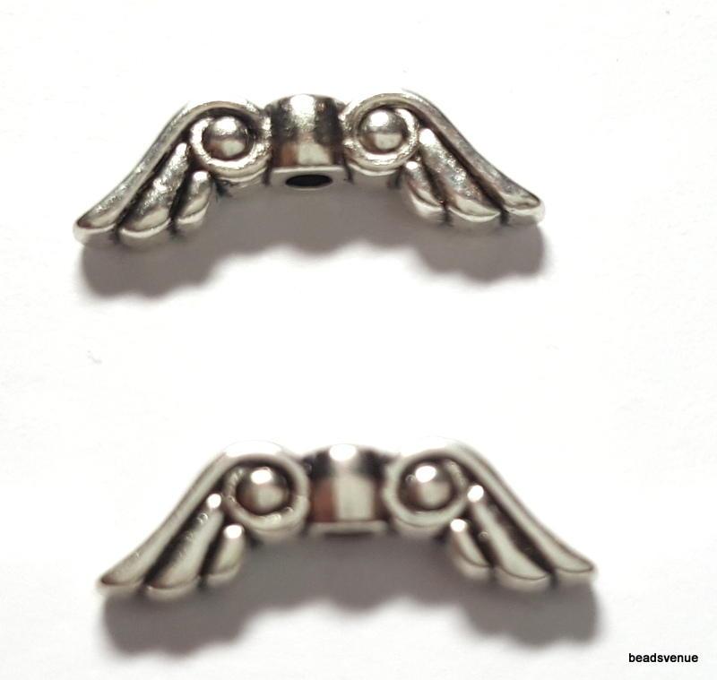 Angel Wings & Metal Beads- Wholesale