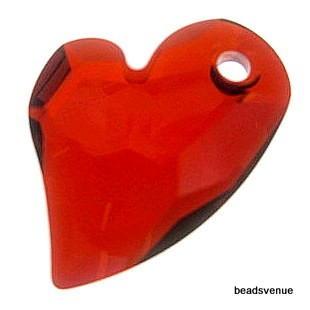 Swarovski Crystal 6261 Devoted 2 U Heart Pendant-17mm