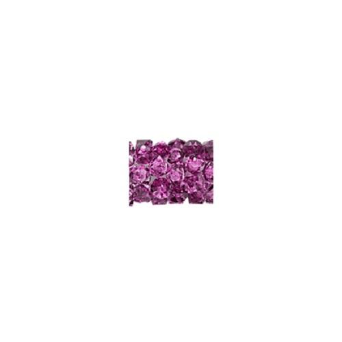 Swarovski Crystal 5951 Fine Rock Tube Bead Without Ending -8 mm