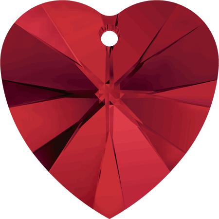 Swarovski Crystal Heart Pendant 6228-18mm