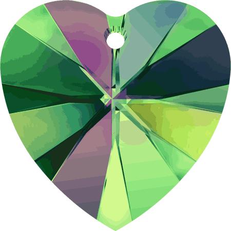 Swarovski Crystal Heart Pendant 6228-14mm