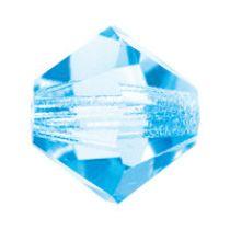 Preciosa® Crystal Flatback No hotfix - Aqua DF