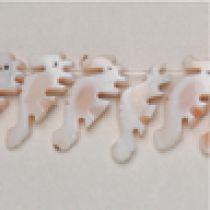 Mosaic seahorses(15x6mm) App.50 pcs. In a str.