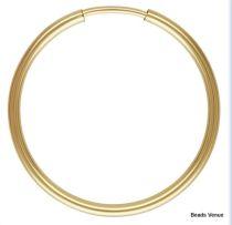 Gold Filled (14k) Endless Hoop  20mm