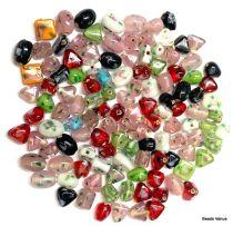 Lampwork Glass Beads Mix