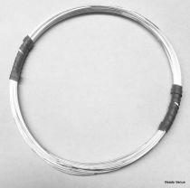 Sterling Silver Half Round Wire 20 Gauge/.032