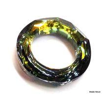 Cosmic Rings (4139)- 20mm -Crystal Sahara (Unfoiled)